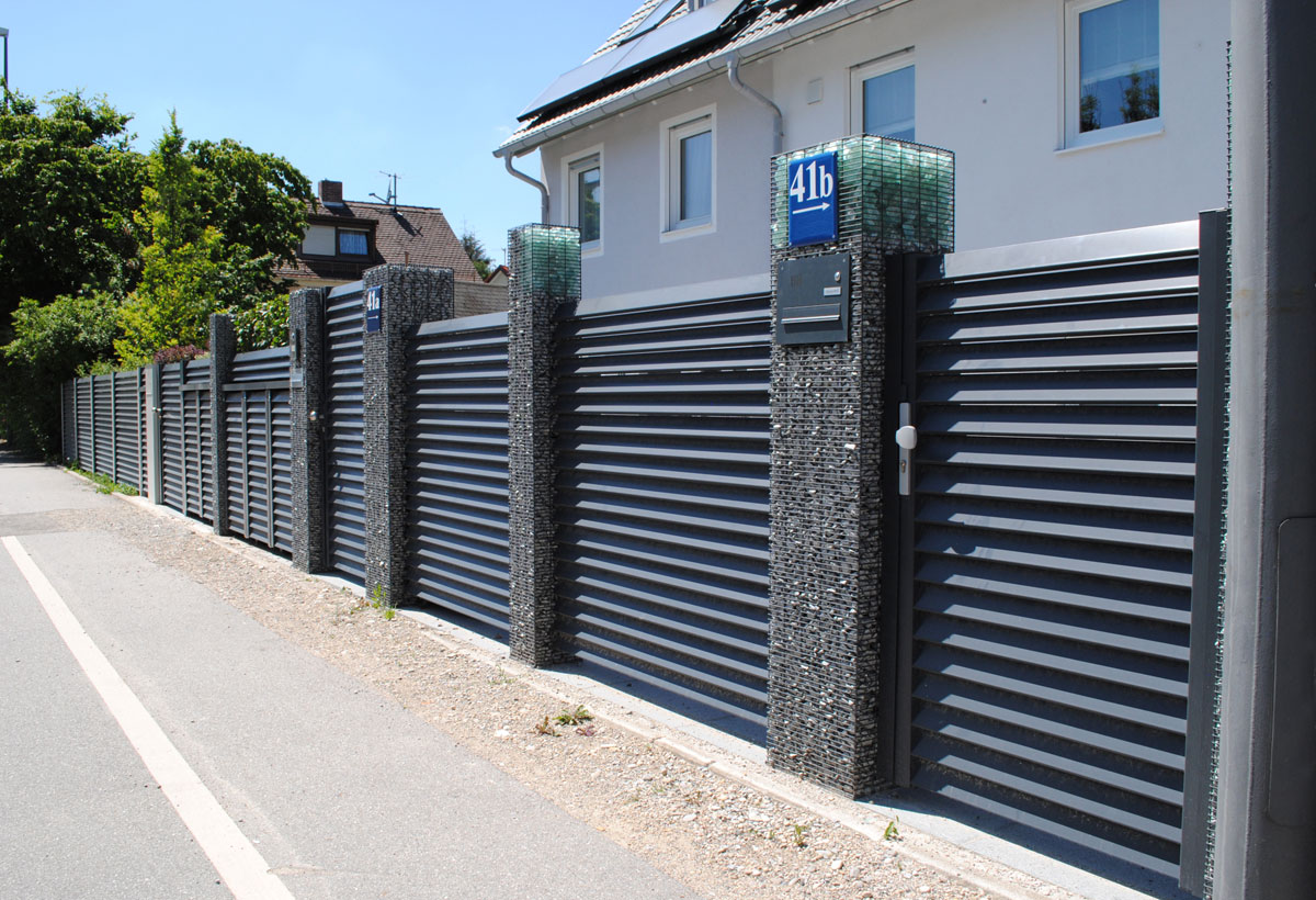 Moderner Zaun Produkte Projekte Ideen