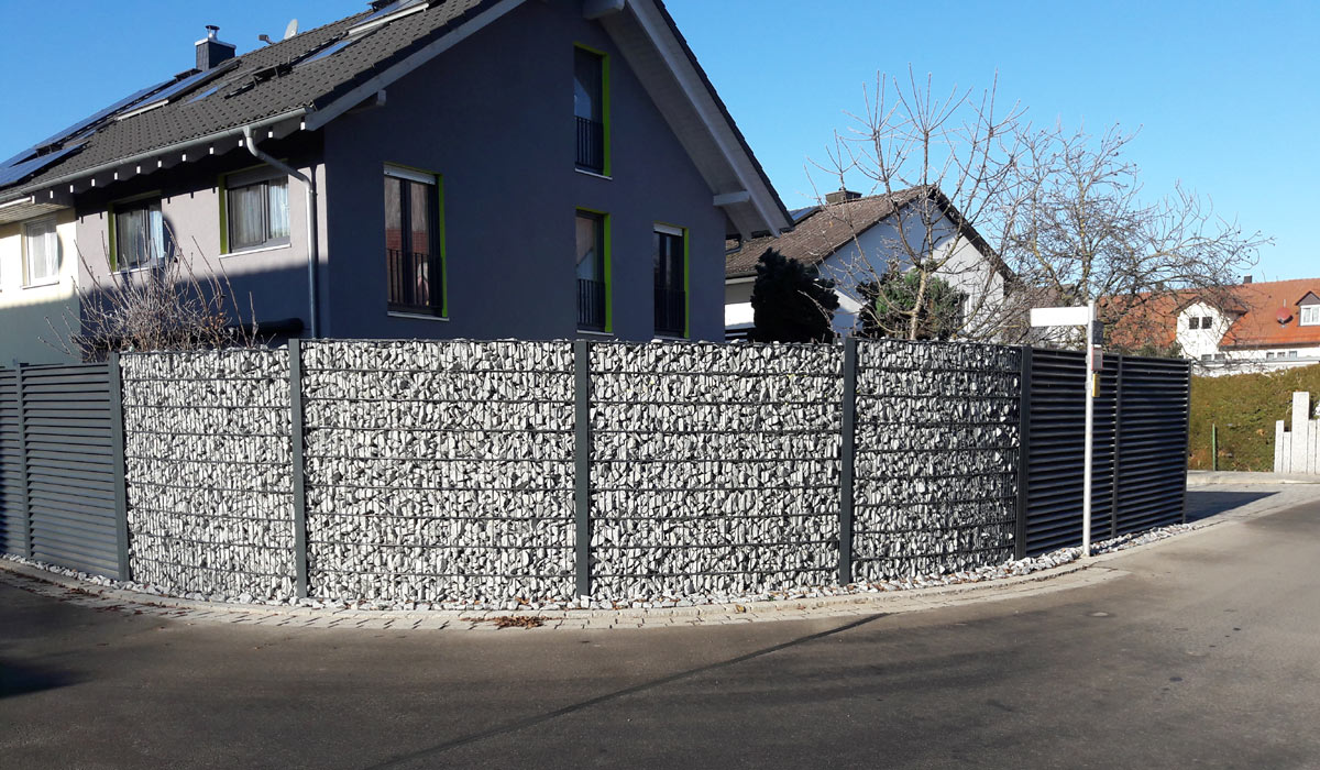 Moderner Zaun Unsere Bisher Interessantesten Projekte Zaune